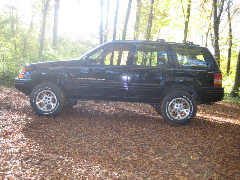 Grand cherokee  ZJ v8 de 5.2L de 1996 version limited 01610
