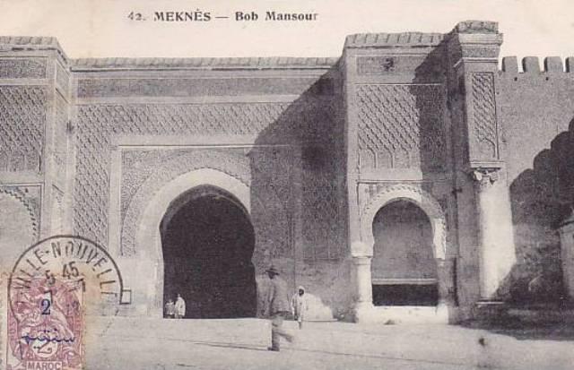 Meknès, la Ville Ancienne et les 2 Mellahs 1 Aaa_me10