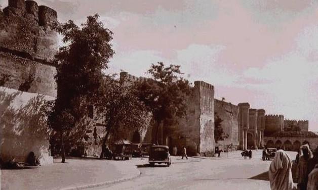 Meknès, la Ville Ancienne et les 2 Mellahs 1 Rempar10