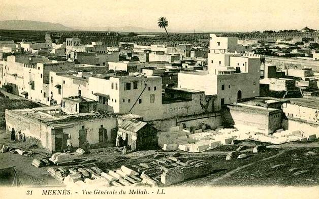 Meknès, la Ville Ancienne et les 2 Mellahs 1 Vue_du10