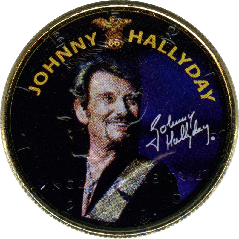 COFFRET HALF DOLLAR JOHNNY HALLYDAY TOUR 66 Halfdo10