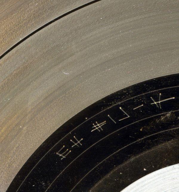 information sur une matrice de  vinyl Houran10