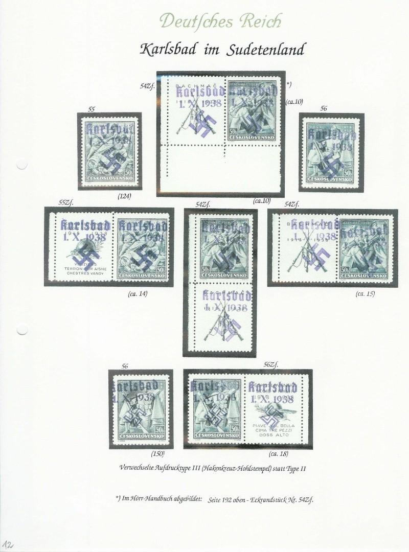 sudetenland - Sensation der Philatelie Karlsb19