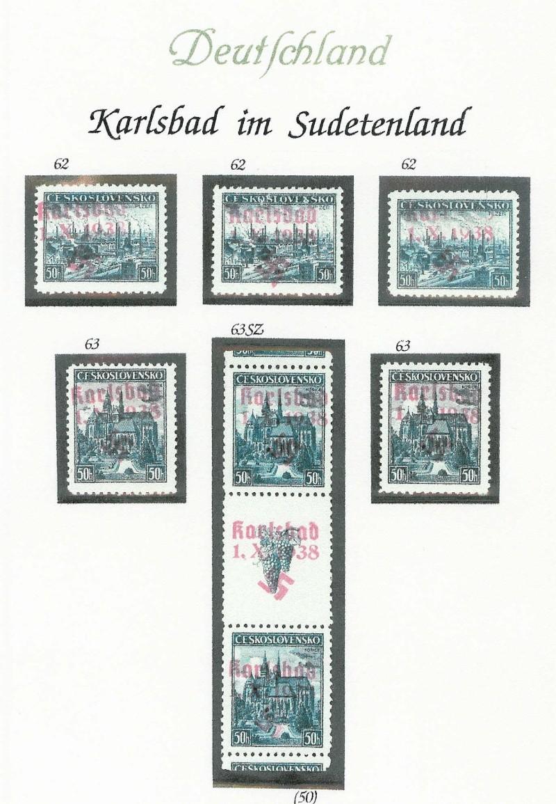 sudetenland - Sensation der Philatelie Karlsb20
