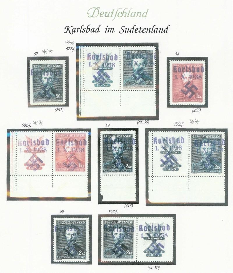 sudetenland - Sensation der Philatelie Karlsb22