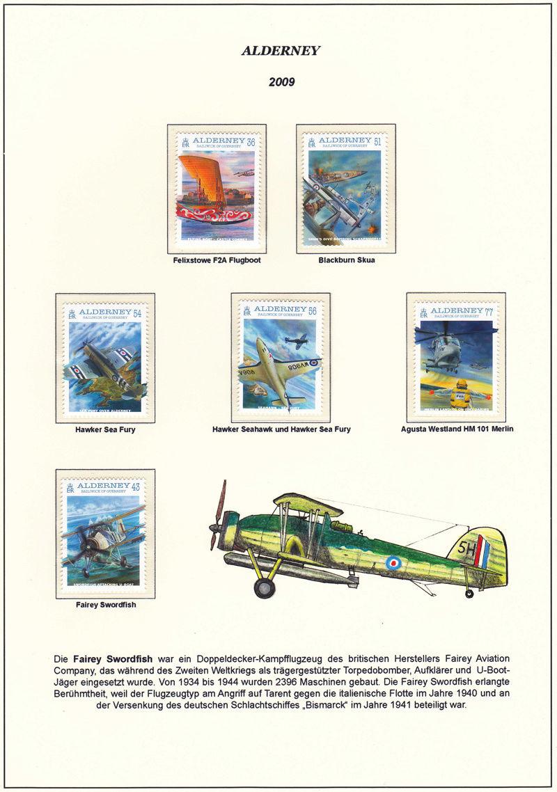 Einmotorige Flugzeuge Aldern10