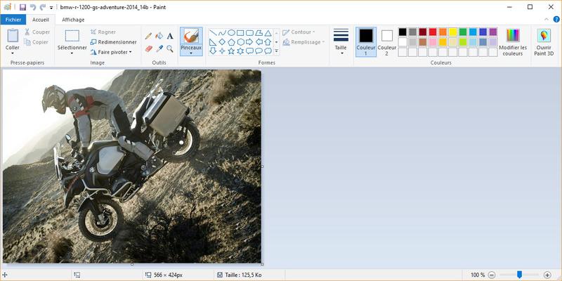 Comment insérer une photo Captur10