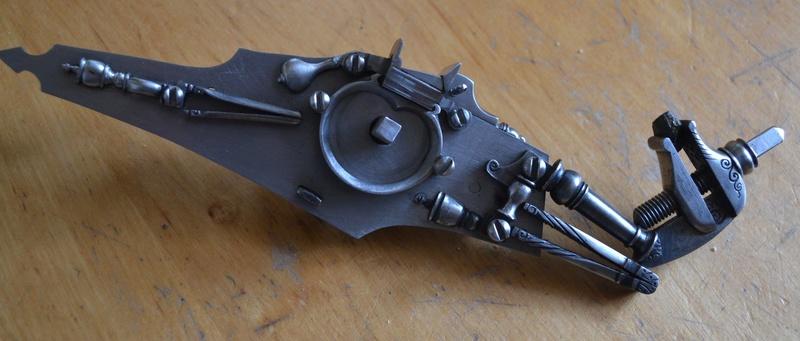 bolek.maciaszczyk - pistolet à rouet vers 1610, reconstruction Bolek_13