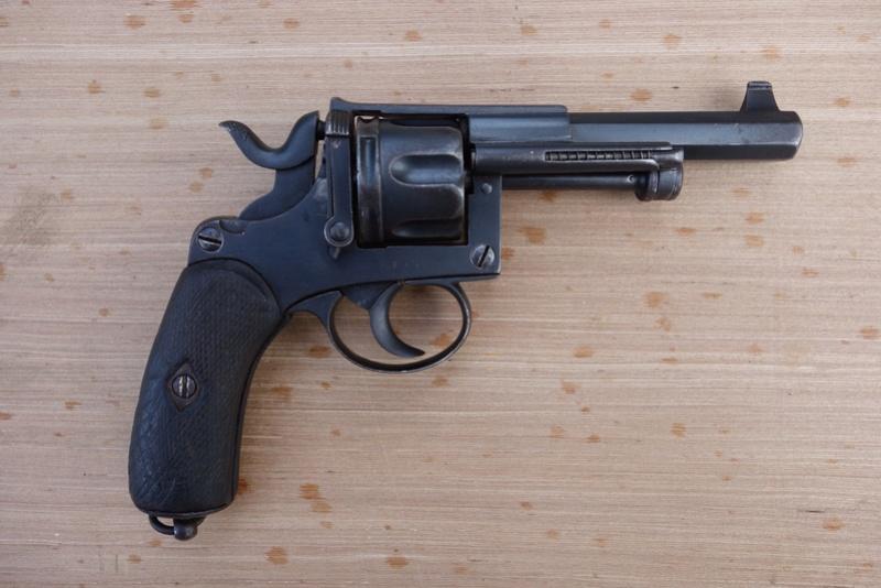 Revolver réglementaire KNIL 1891 Dsc02131