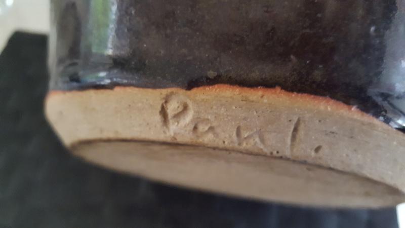 Paul? Large Studio Pottery jug 20180233
