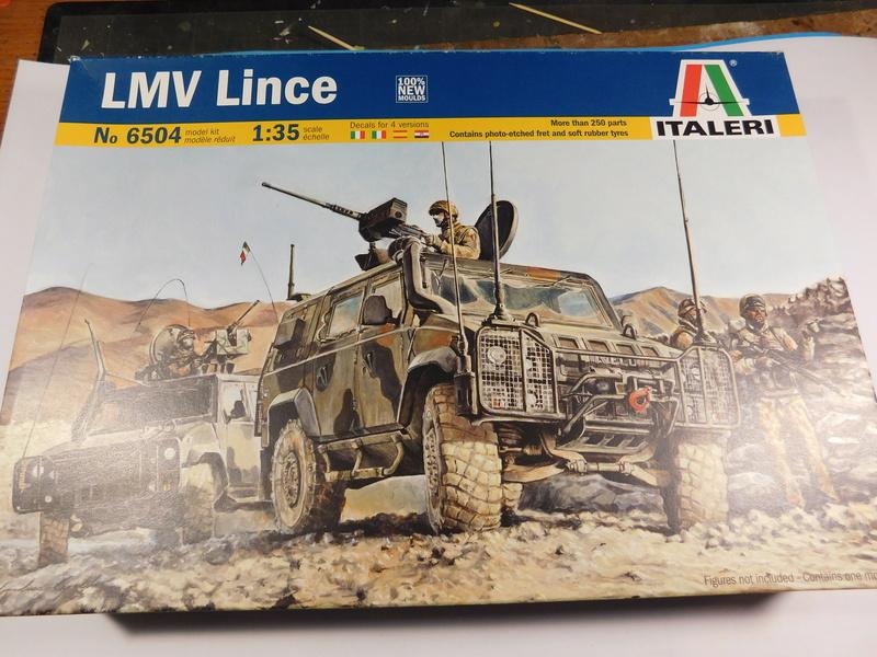 LMV Lince d'Italeri Dscn1539