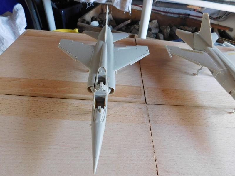 Les  Mirage F1 dans les ateliers Fouga Dscn1752