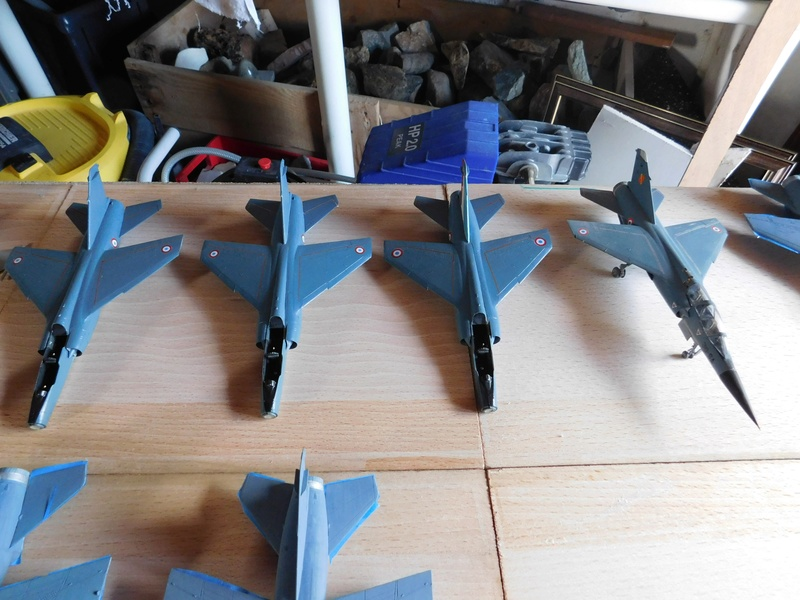 Les  Mirage F1 dans les ateliers Fouga Dscn1754