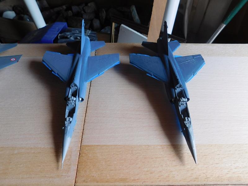 Les  Mirage F1 dans les ateliers Fouga Dscn1755