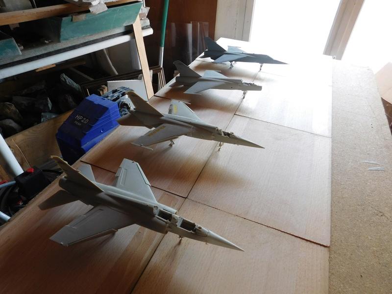 Les  Mirage F1 dans les ateliers Fouga Dscn1757