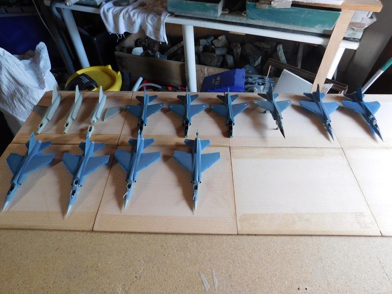 Les  Mirage F1 dans les ateliers Fouga Dscn1761