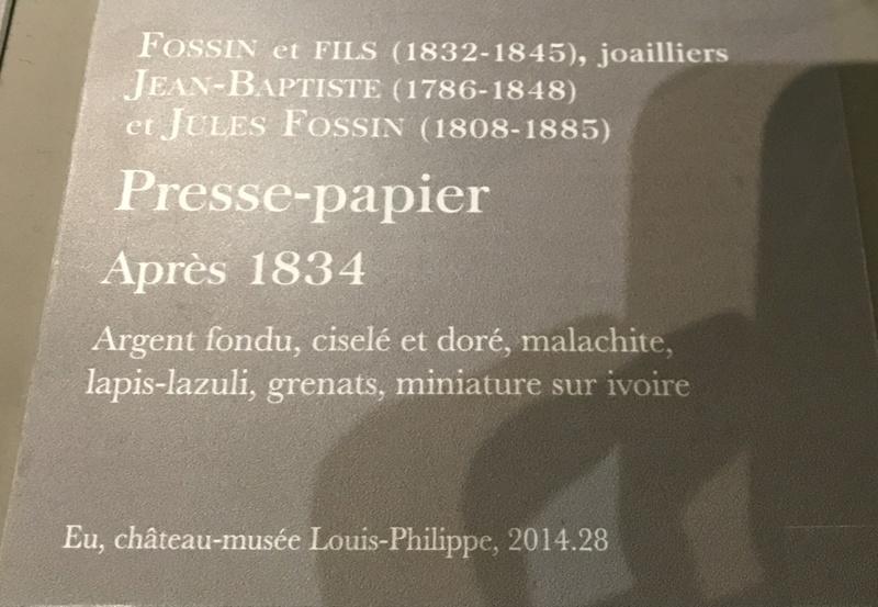 Fontainebleau, Exposition Louis-Philippe en 2018 - Page 2 74c47110
