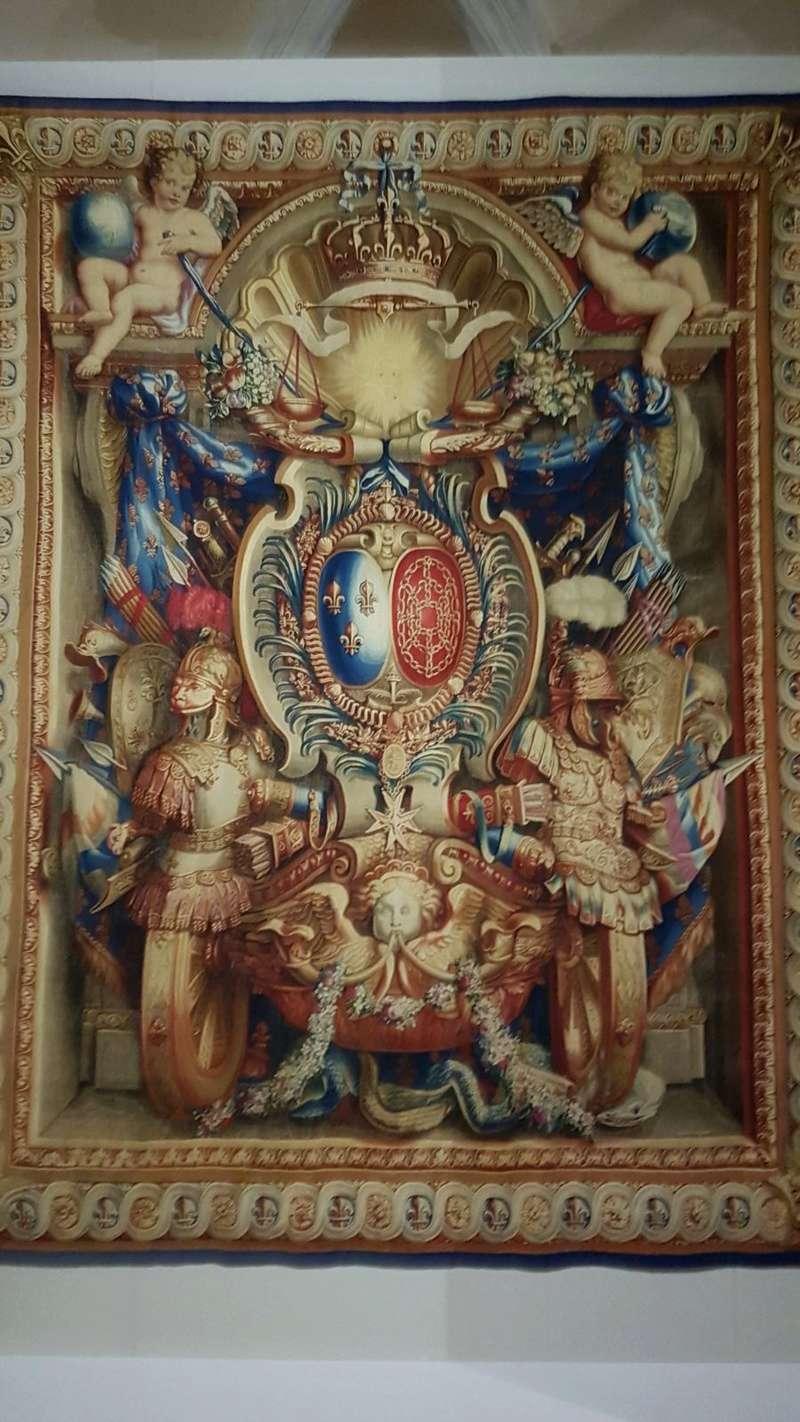 Expo. Pau : Portières de tapisserie d'après Charles Le Brun 83d34110