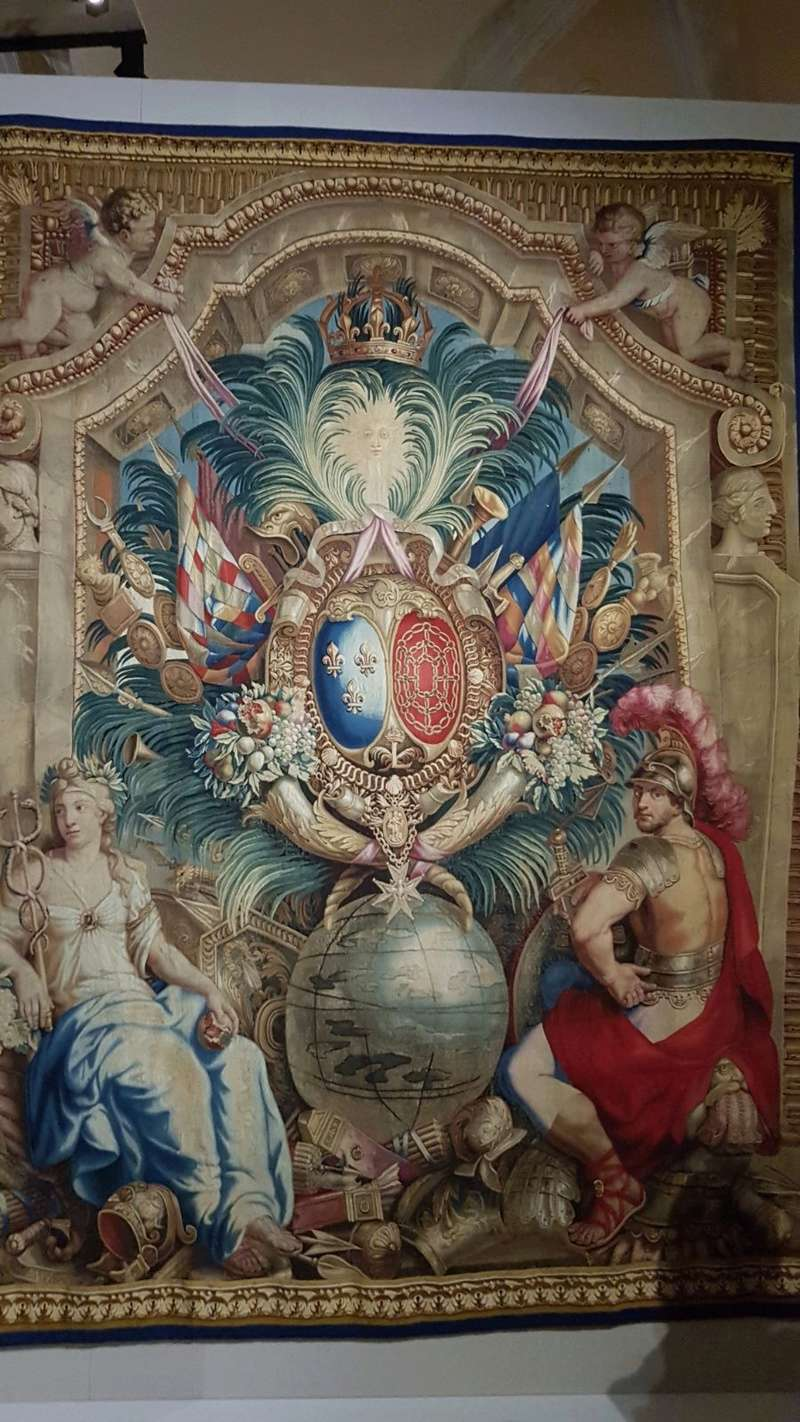 Expo. Pau : Portières de tapisserie d'après Charles Le Brun 8a2a8710