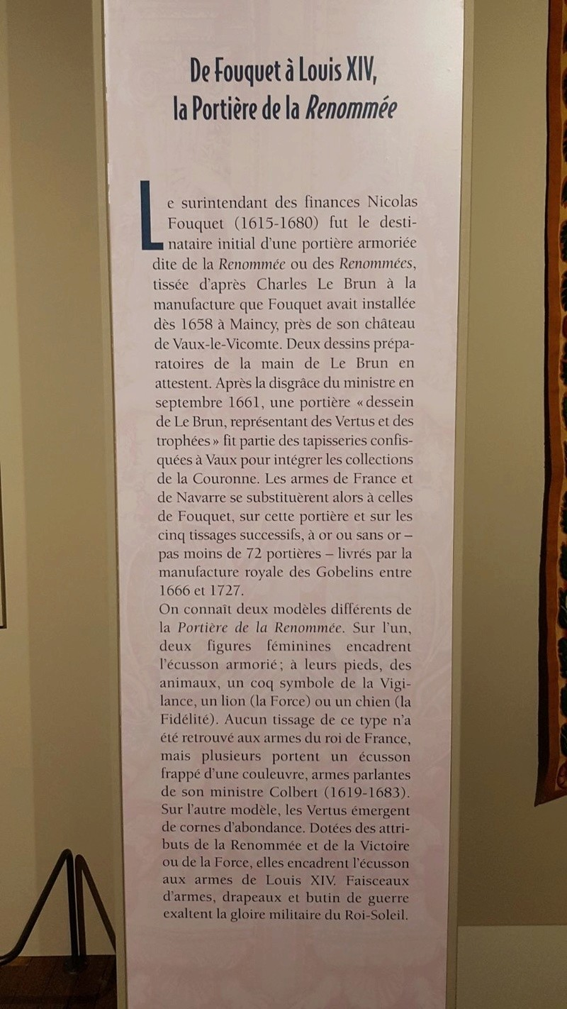 Expo. Pau : Portières de tapisserie d'après Charles Le Brun 8e5e5010