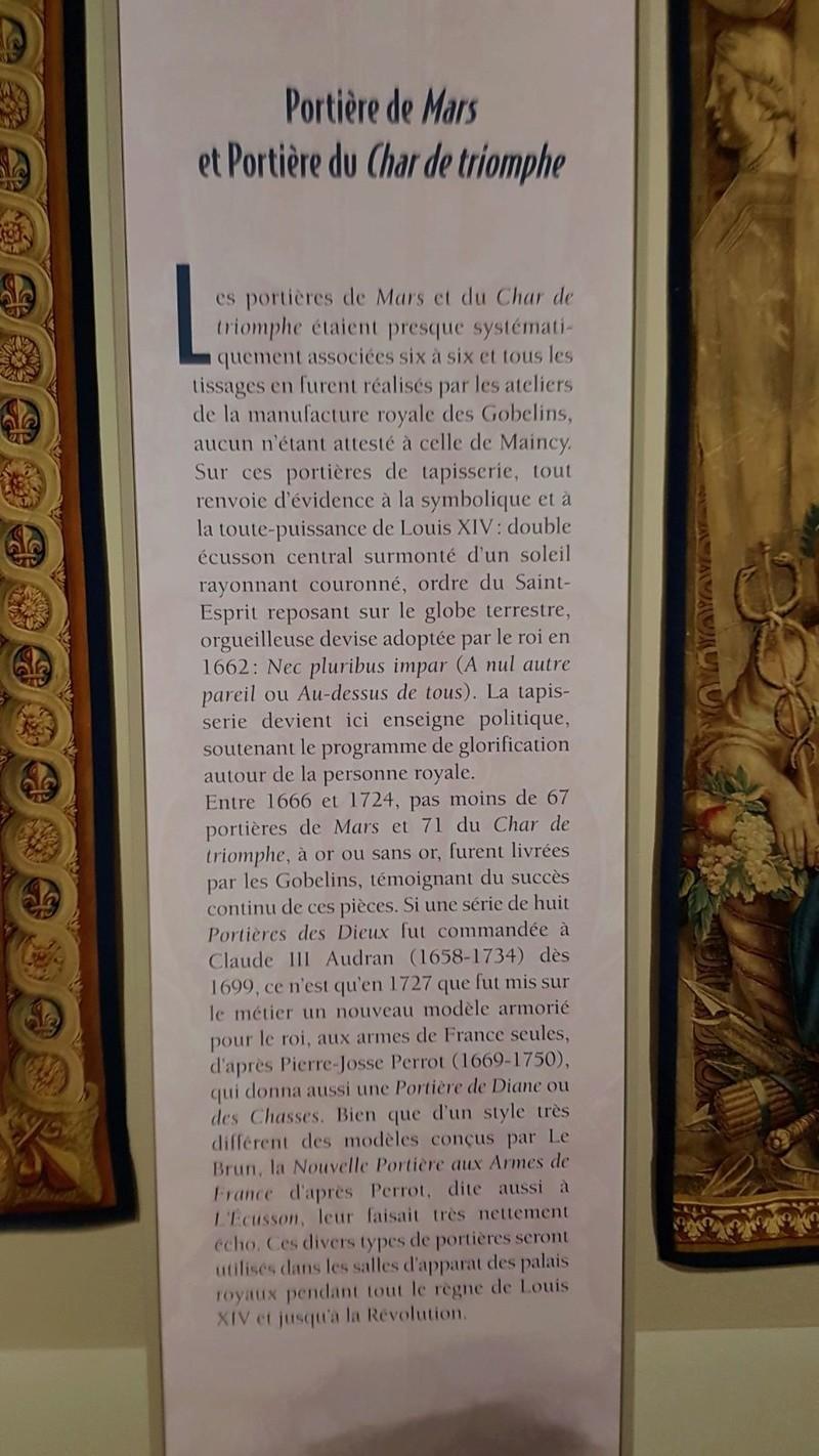 Expo. Pau : Portières de tapisserie d'après Charles Le Brun Bb108310
