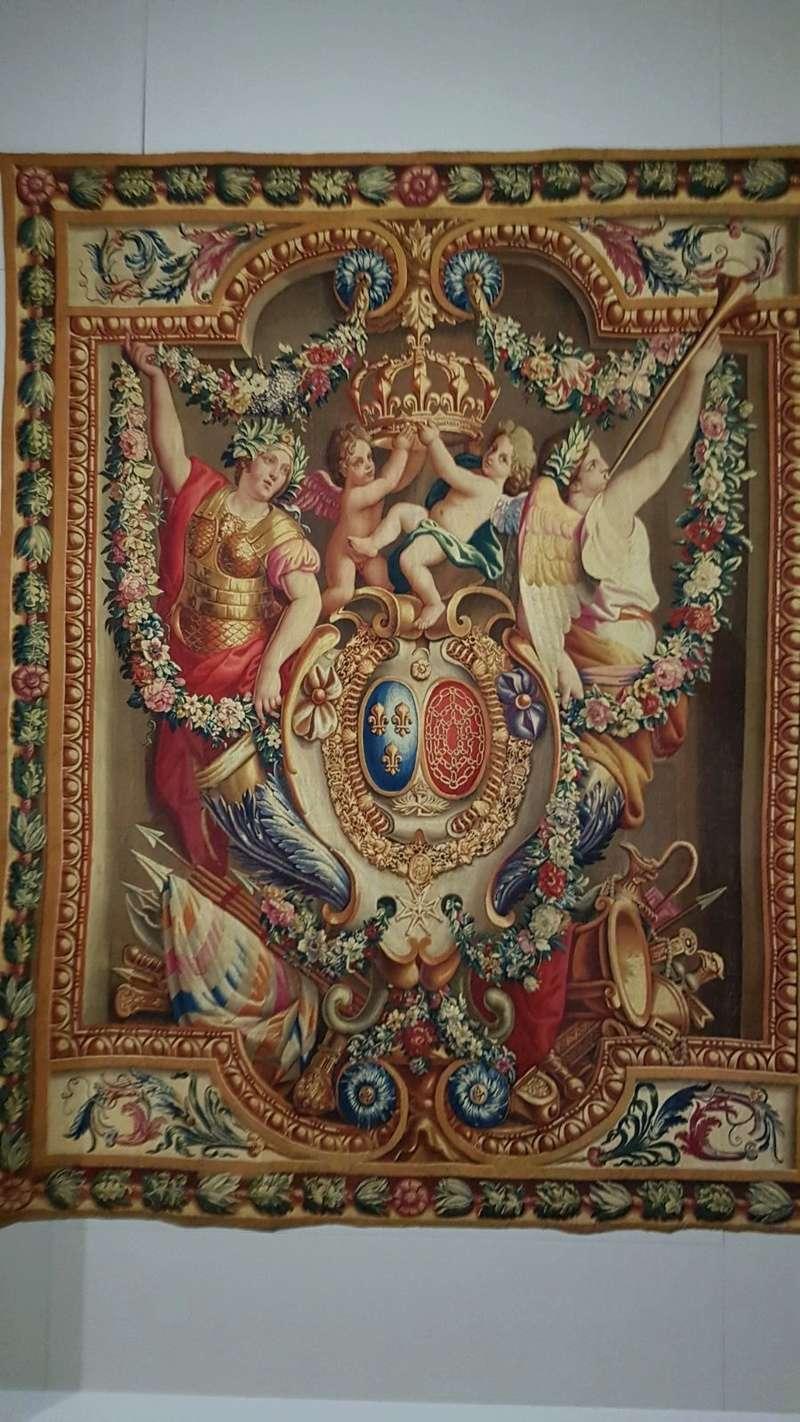 Expo. Pau : Portières de tapisserie d'après Charles Le Brun Ea600d10