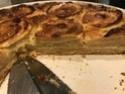 Tarte aux pommes à la crème de calisson Img_1514