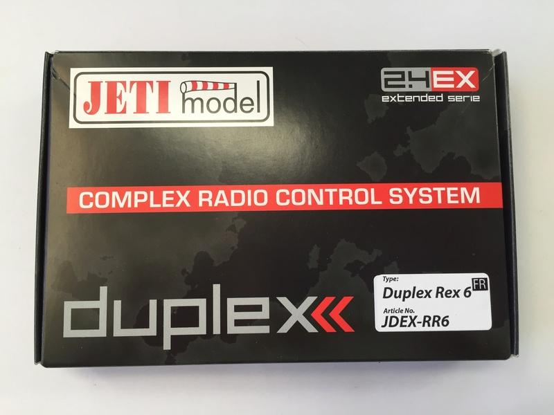 Vends Récepteur Neuf JETI REX6. J210