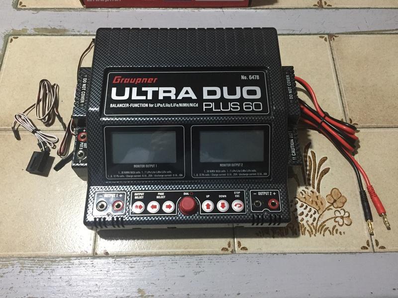 Vends Chargeur Graupner Ultra Duo Plus 60. U10
