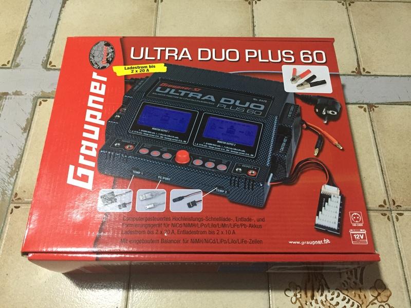 Vends Chargeur Graupner Ultra Duo Plus 60. U212