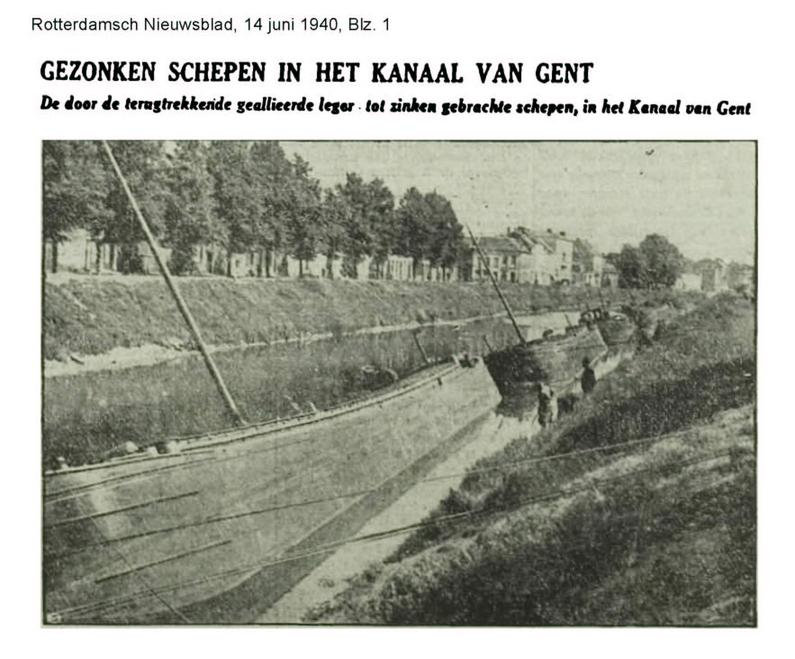 GAND en 1940 Canal_10