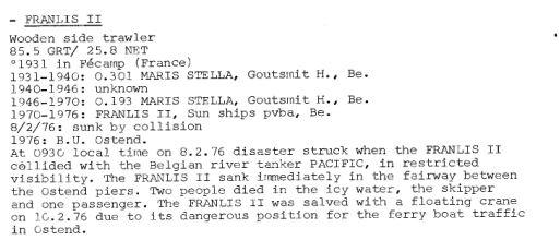 Les Bateaux d'excursions en mer des ports belges - Page 4 Franli12