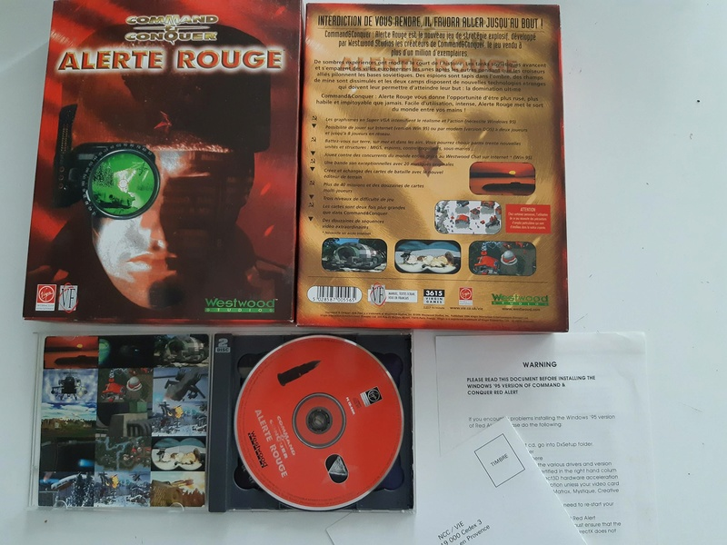 [VDS] lot jeux pc Big Box Ar11
