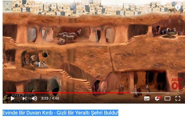 Evinde Bir Duvarı Kırdı - Gizli Bir Yeraltı Şehri (Derin kuyu) buldu! Adsz12