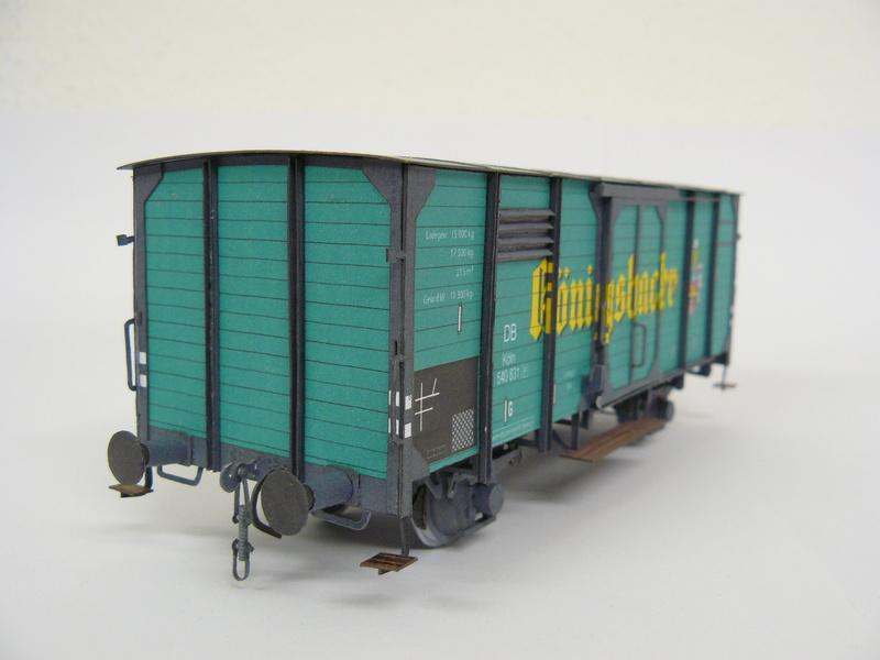 Bierwagen Königsbacher HS-Design 1:45 P1240310