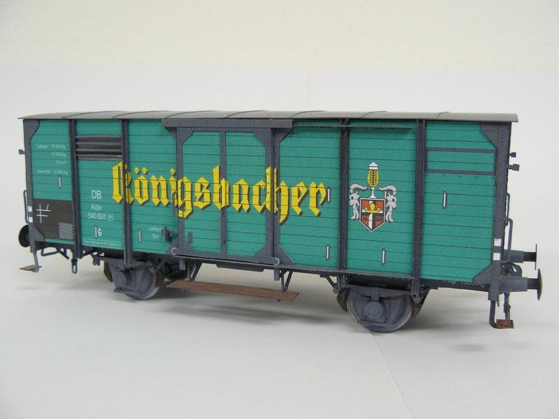 Bierwagen Königsbacher HS-Design 1:45 P1240316