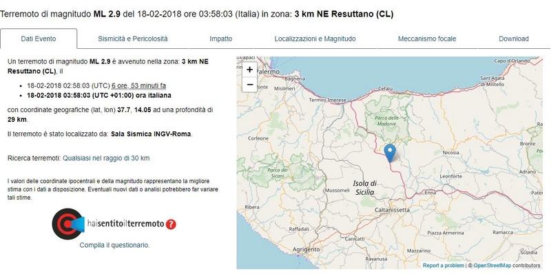 La terra trema in Sicilia Terrem10