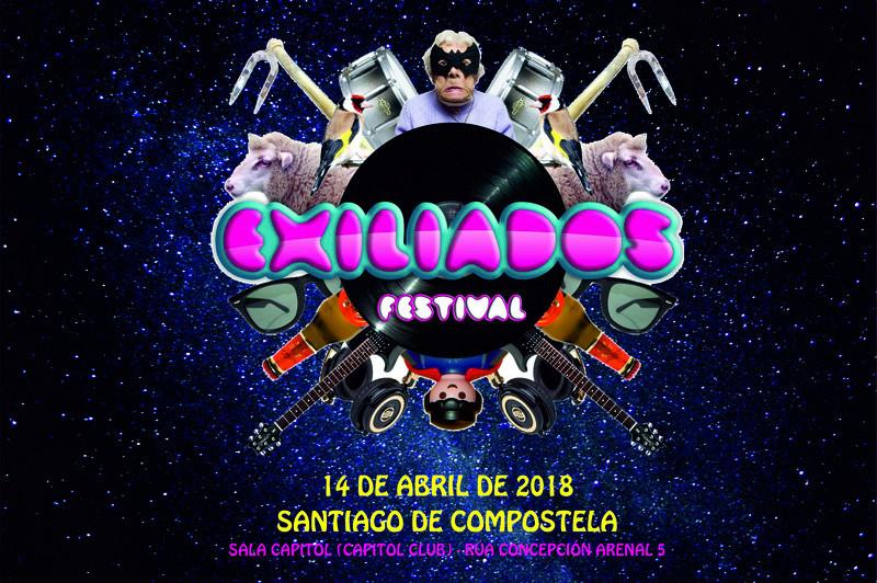 EXILIADOS FESTIVAL 2018 - SANTIAGO DE COMPOSTELA Exilia10