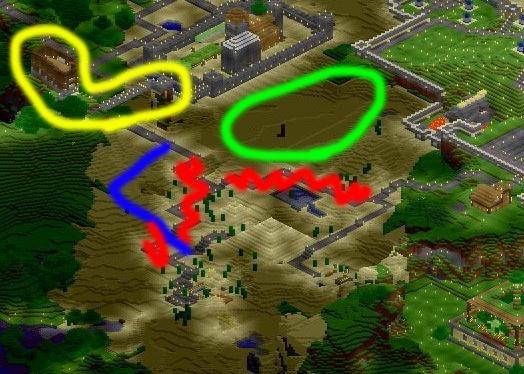 Réaménagement des routes Zone-a10