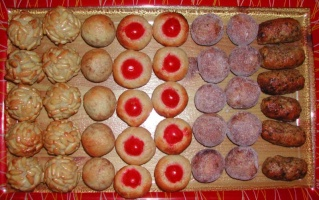 Panellets assortis (recette sans patate) Panell14