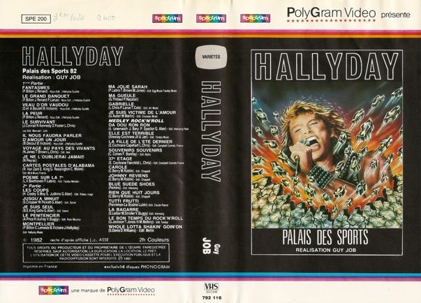 Live au Palais des Sports (1982) et Zenith (1984) Pds8210