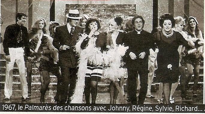 Nouveau CD de Johnny dans Télé7jours T7j_110