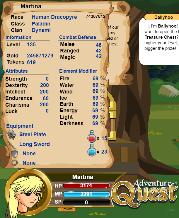 AdventureQuest: INT vs END (súboj statov 1) Peny_s10