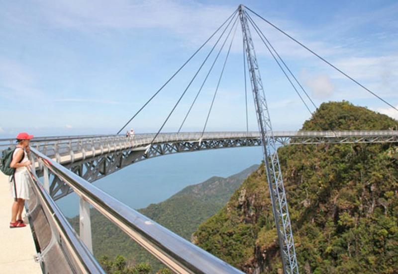 Skybridge, pont belvédère de Langkawi - Malaisie. 0310