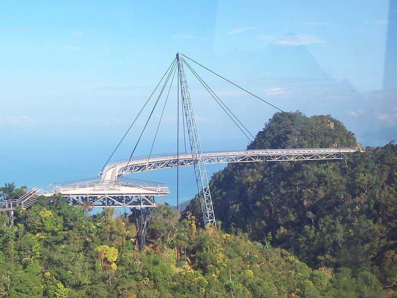 Skybridge, pont belvédère de Langkawi - Malaisie. 0710