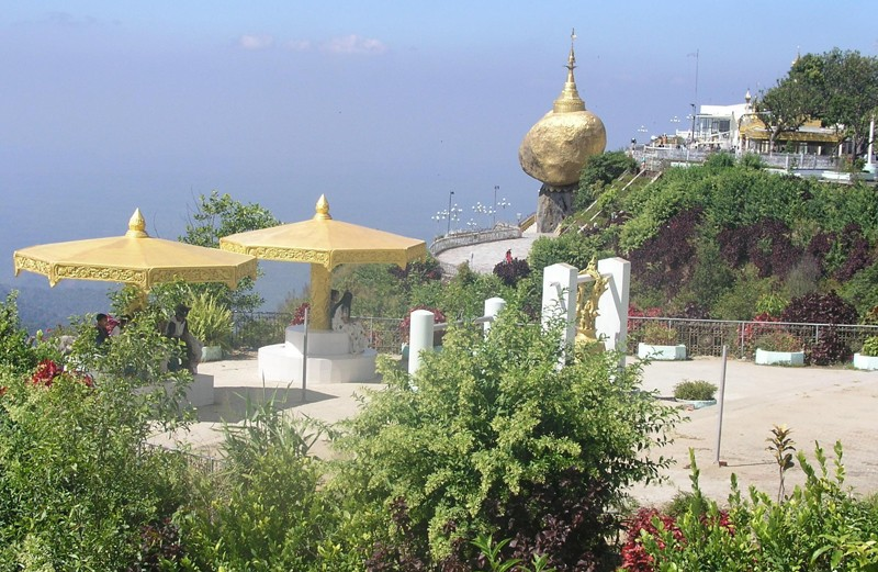 Le Rocher d'Or (Pagode de Kyaiktiyo)  -  (MYANMAR (ex-Birmanie). 268_o10