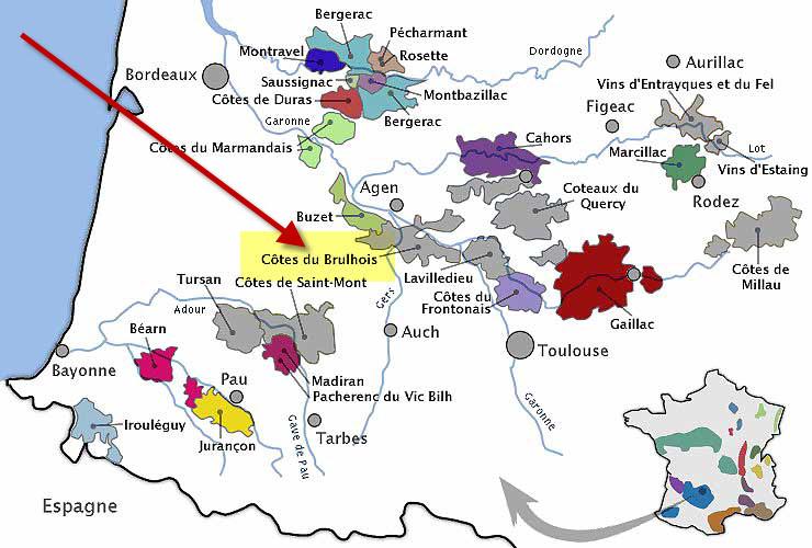 Côtes du Brulhois - Nouvelle AOC Carte_10