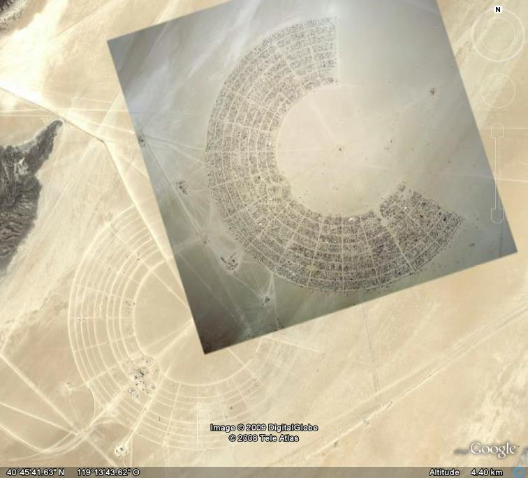 Site de Burning man, Nevada - USA Ge_bur10