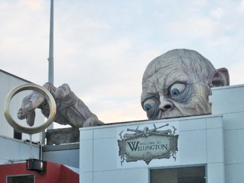 Gollum à Wellington - Nouvelle Zélande. Gollum10