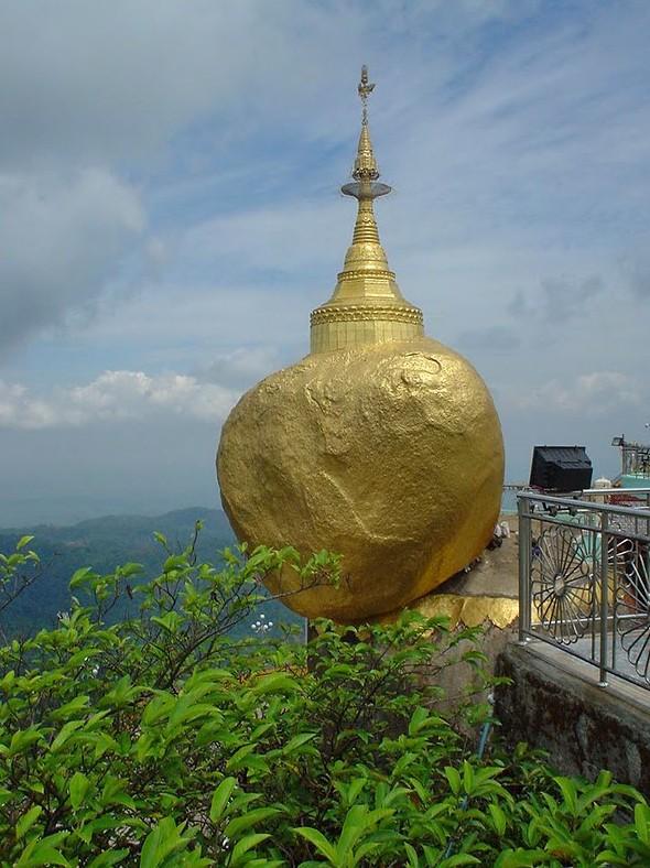 Le Rocher d'Or (Pagode de Kyaiktiyo)  -  (MYANMAR (ex-Birmanie). Sans_t27